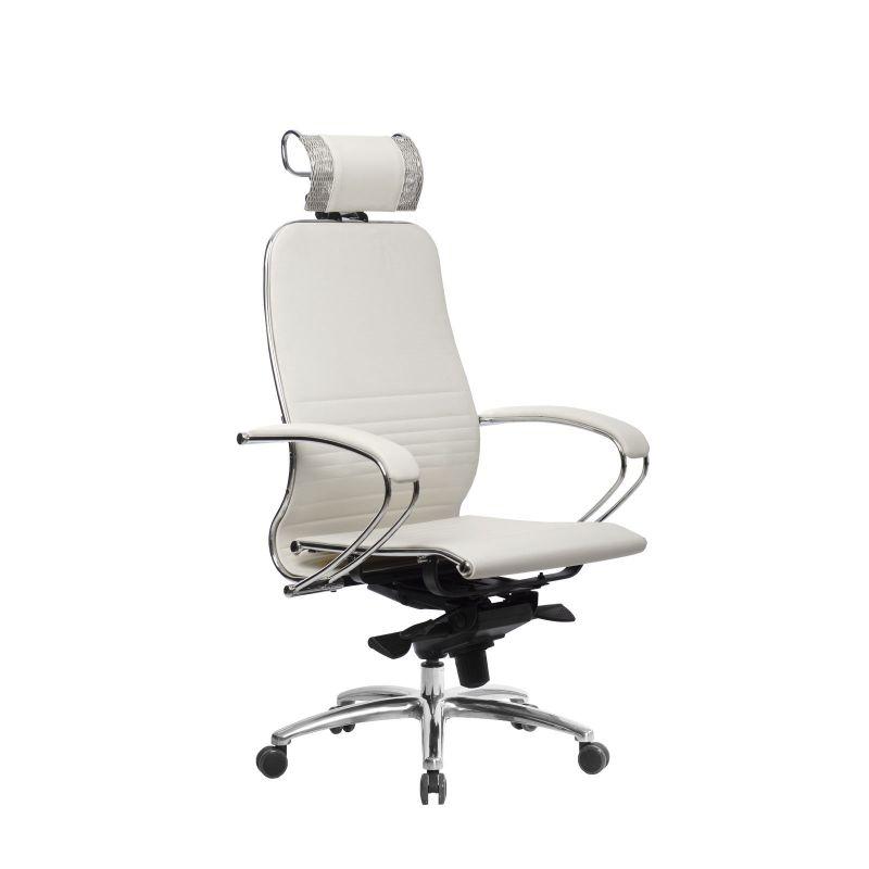 Кресло компьютерное Samurai K-2.04 Белый Лебедь
