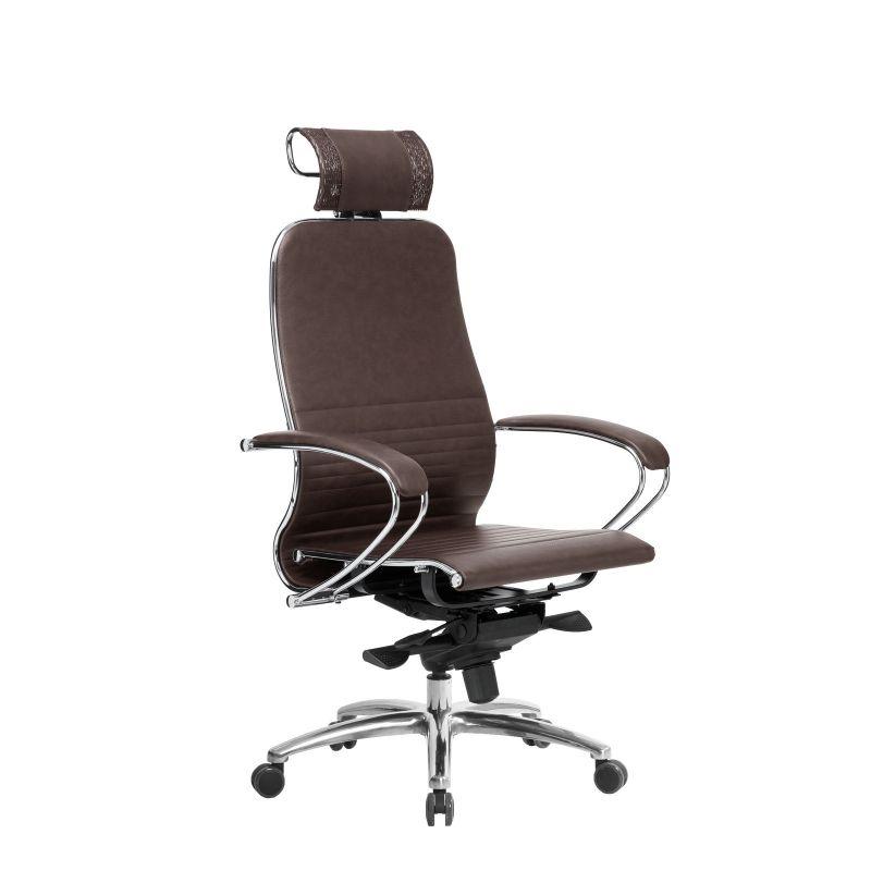 Кресло компьютерное Samurai K-2.04 Темно-коричневый