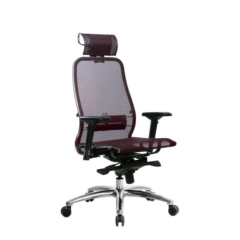 Кресло Samurai S-3.04 Темно-бордовый