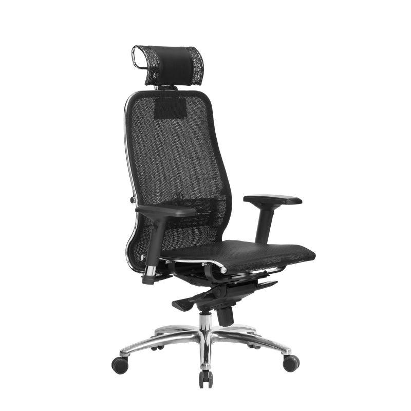 Кресло Samurai S-3.04 Черный Плюс