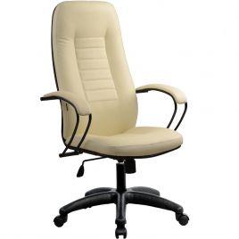 Кресло компьютерное офисное BP-2 «Пилот» 720 Бежевая кожа