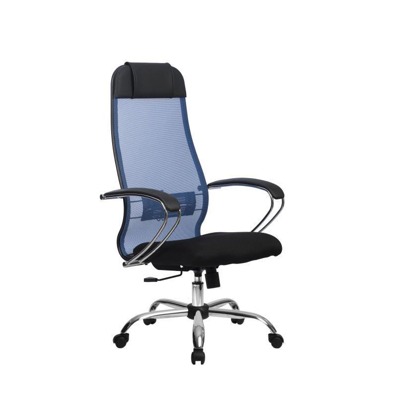 Кресло компьютерное Метта Комплект 18 Синий для офиса и дома