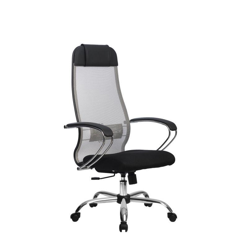 Кресло компьютерное Метта Комплект 18 Светло-серый для офиса и дома