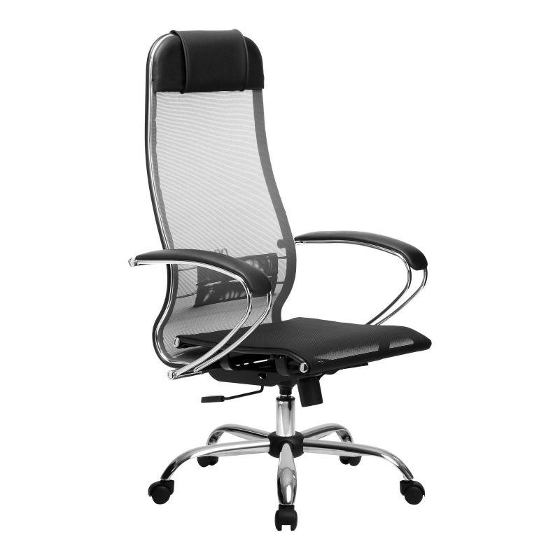 Кресло компьютерное МЕТТА 4 Серый для офиса и дома