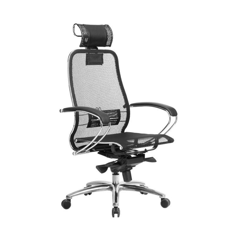 Кресло компьютерное для руководителя Samurai S-2.04 Черный