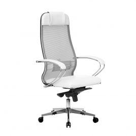 Кресло компьютерное Samurai Comfort-1.01 Белый Лебедь
