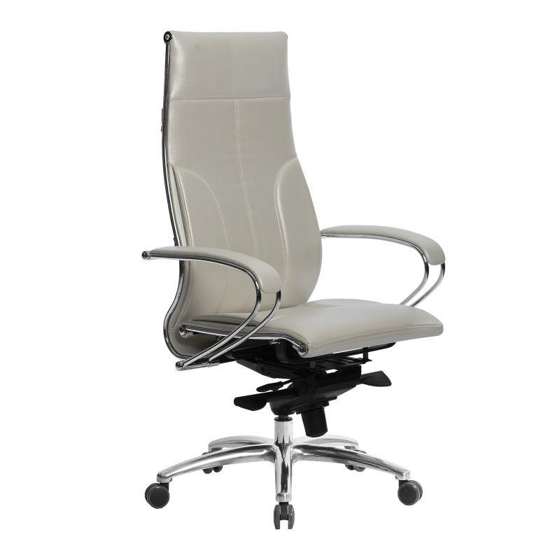 Кресло компьютерное Samurai Lux Белый Лебедь