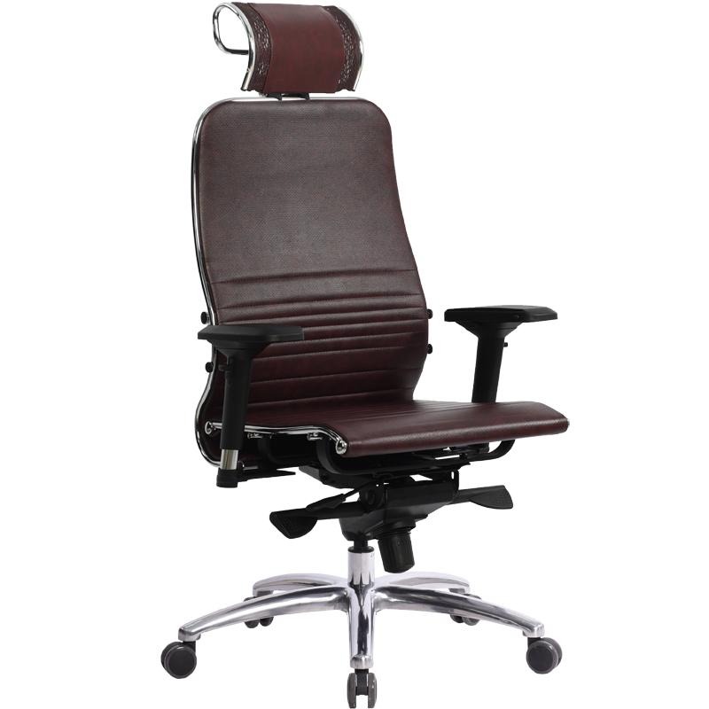Кресло компьютерное Samurai K-3.04 Темно-бордовый