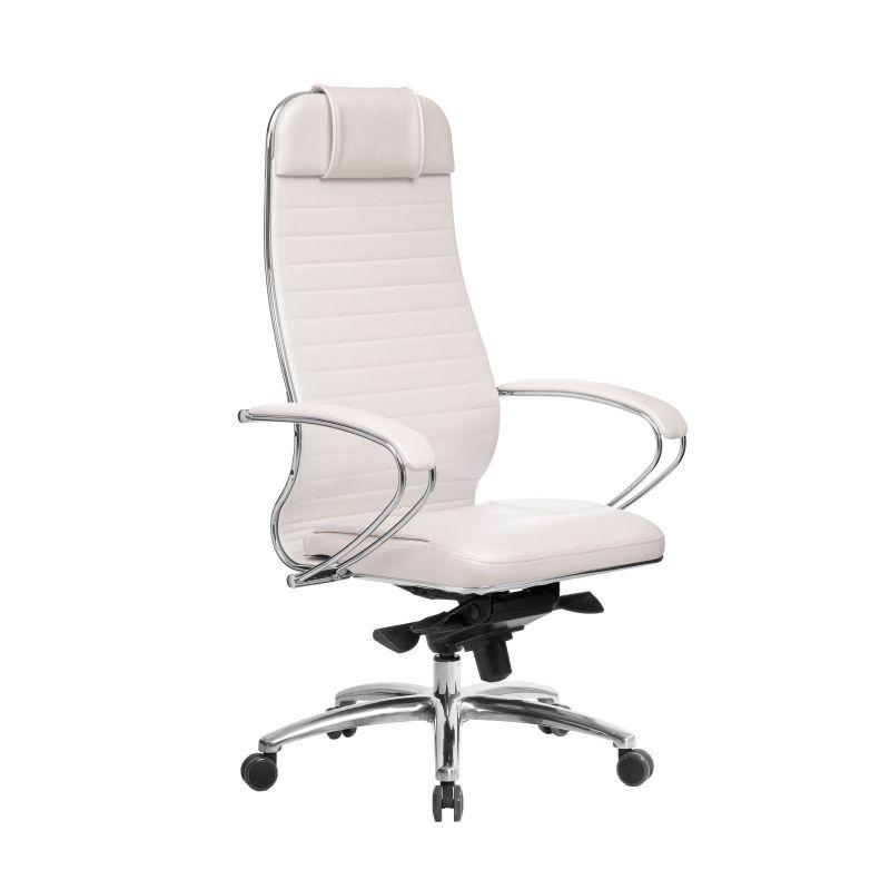 Кресло компьютерное Samurai KL-1.04 Белый Лебедь