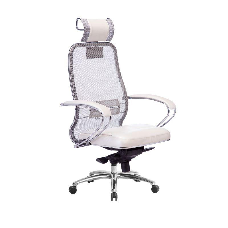 Кресло компьютерное Samurai SL-2.04 Белый Лебедь
