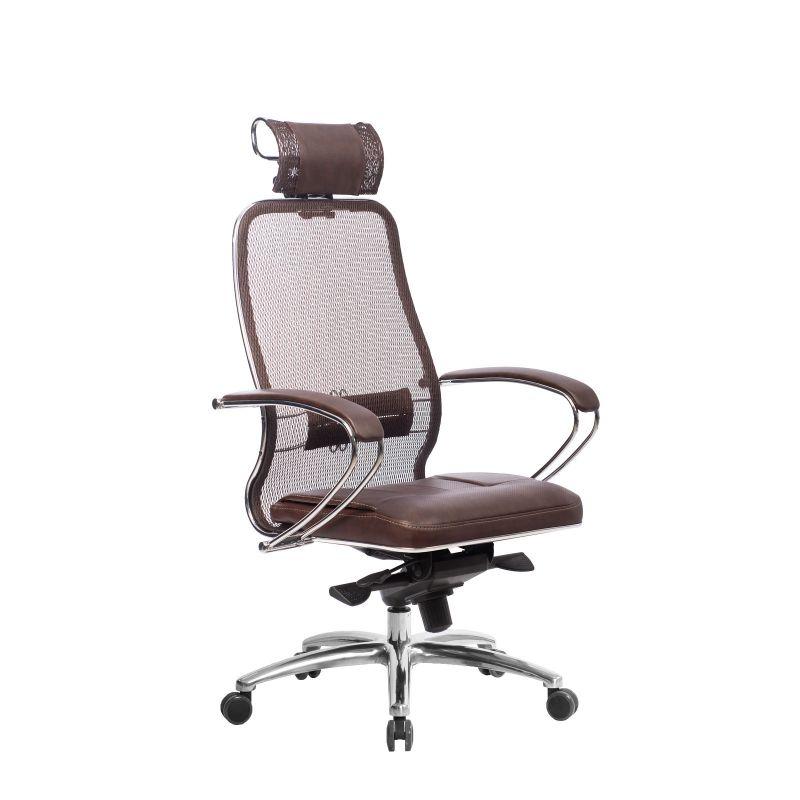 Кресло компьютерное Samurai SL-2.04 Темно-коричневый