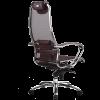 Кресло компьютерное для руководителя Samurai S-1 Темно-бордовый (для дома и офиса)