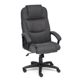 Кресло компьютерное для офиса и дома «Бергамо» (Bergamo) (Тёмно-серая ткань)