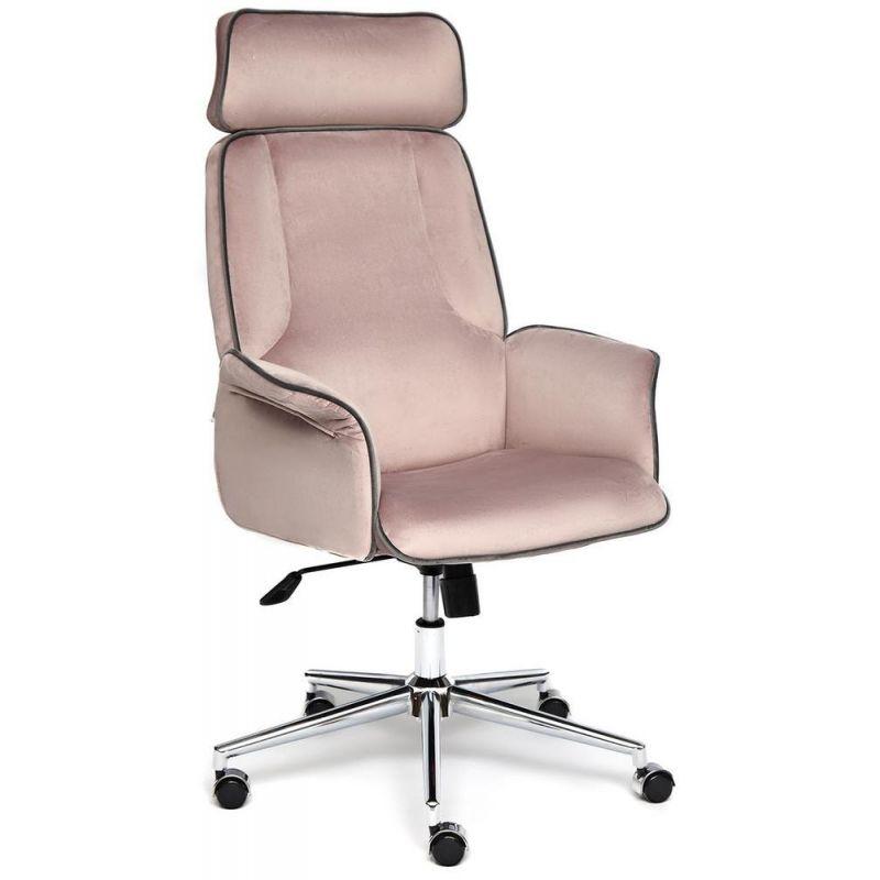 Кресло компьютерное Charm Розовый Велюр