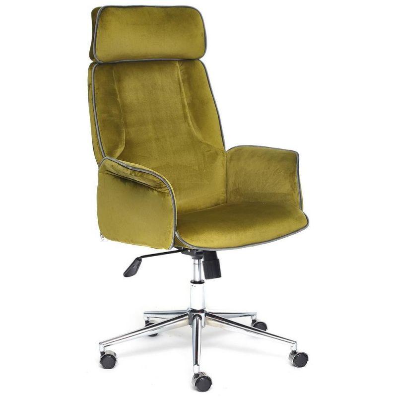 Кресло компьютерное Charm Зеленый Велюр