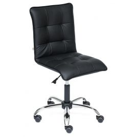 Кресло Zero ( Искусственная чёрная кожа )