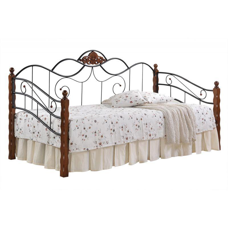 Кровать-кушетка «Канцона» (Canzona) Красный дуб
