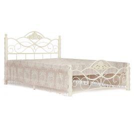 Кровать двуспальная «Канцона» (Canzona) Белый 160*..
