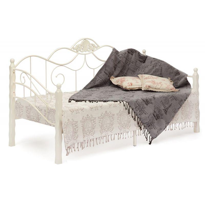 Кровать-кушетка «Канцона» (Canzona) Белый