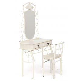 Туалетный столик со стулом Canzona Белый