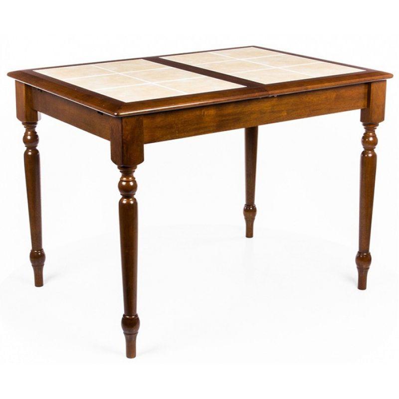 Стол обеденный деревянный раскладной СТ 2950T Темный дуб (орех)