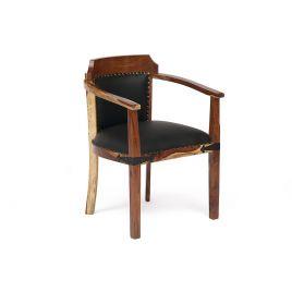 Стул-кресло деревянное «Бомбей» CW-6374 Палисандр