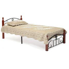 Металлическая кровать Румба (метал. каркас) + металл. основание (90 см x 200 см)