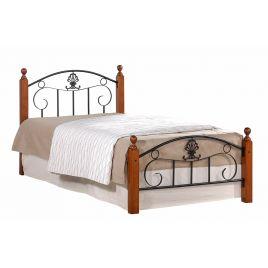 Металлическая кровать Румба (метал. каркас) + металл. основание (120 см x 200 см)