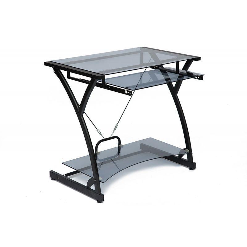 Стол компьютерный стеклянный Dark Wader WRX-01 (Тонированное)