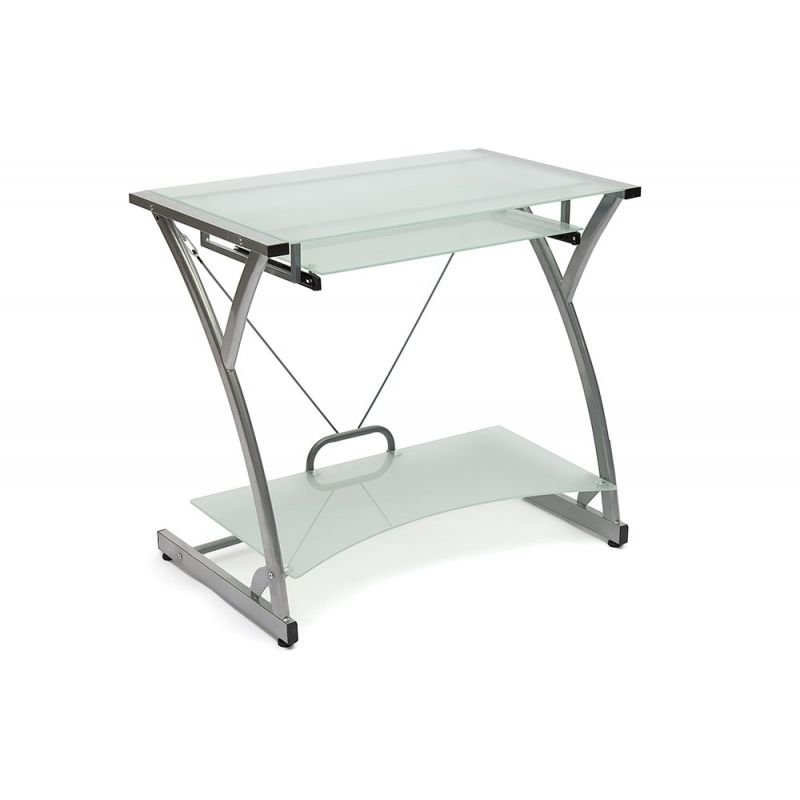 Стол компьютерный стеклянный Dark Wader WRX-01 (Матовое)