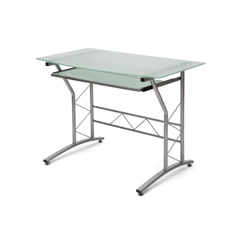 Компьютерный стол стеклянный ST-F1018 (Матовое)