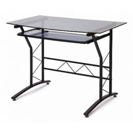Компьютерный стол стеклянный ST-F1018 (Тонированное)