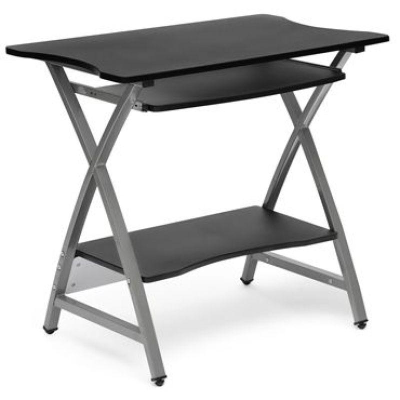 Компьютерный стол с надстройкой «Sirius WRX-09» (Чёрный)