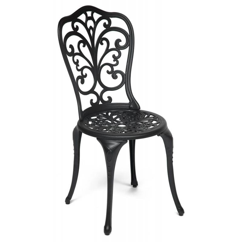 Кованый стул «Моцарт» Mozart Чёрный