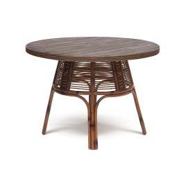 Стол обеденный для кухни деревянный Secret De Maison «Lean» (Лин) (Коричневый антик)