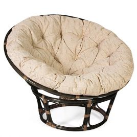 Кресло из ротанга «Папасан» (Papasan) Антик Браун