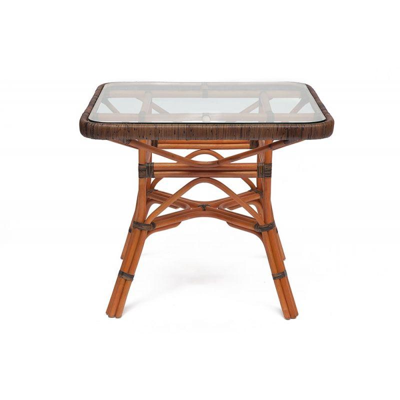 Стол обеденный стеклянный Secret De Maison «Yama» (Йама) (Коричневый)