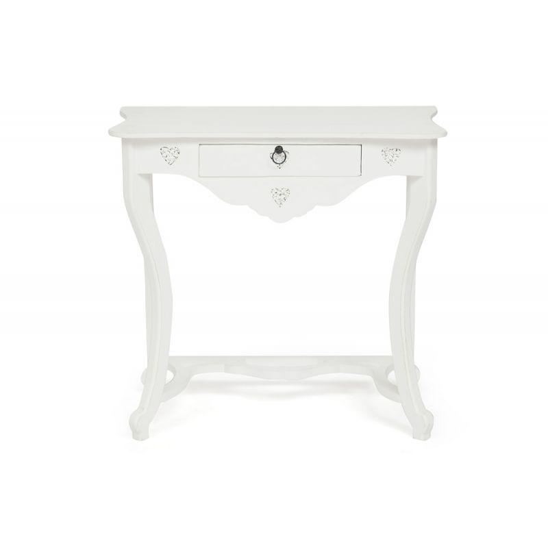 Столик консольный «Boudoir» Античный белый