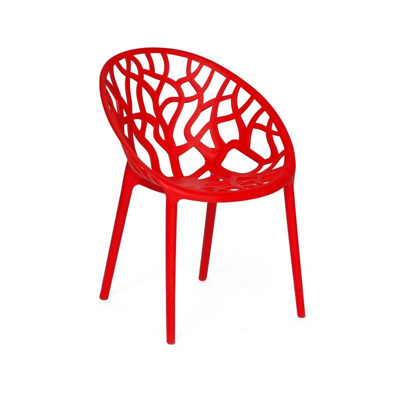 Стул Secret De Maison «Bush» (Буш) (mod. 017 White) (Красный)
