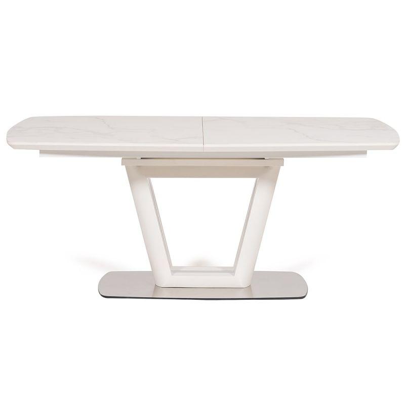 Стол деревянный обеденный раскладной «Emily» белый