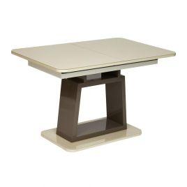 Стол обеденный для кухни стеклянный раздвижной «Br..