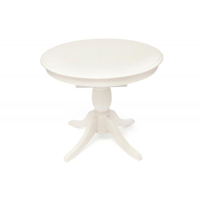 Стол обеденный деревянный раскладной BEATRICE NEW (Беатриче New) Белый