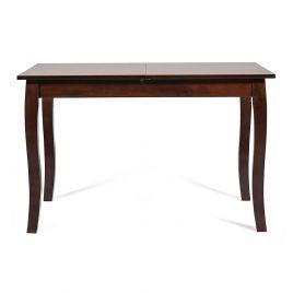 Стол обеденный для кухни раскладной деревянный «Hephaestus»  (тёмный орех)