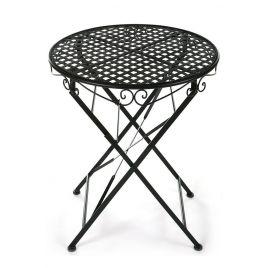 Кованый стол круглый Secret De Maison «Патио» (Patio) (Чёрный)