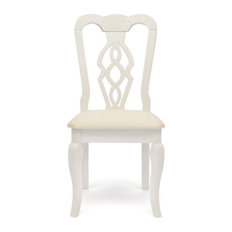 Стул обеденный деревянный «Афродита» (Aphrodite)  Белый