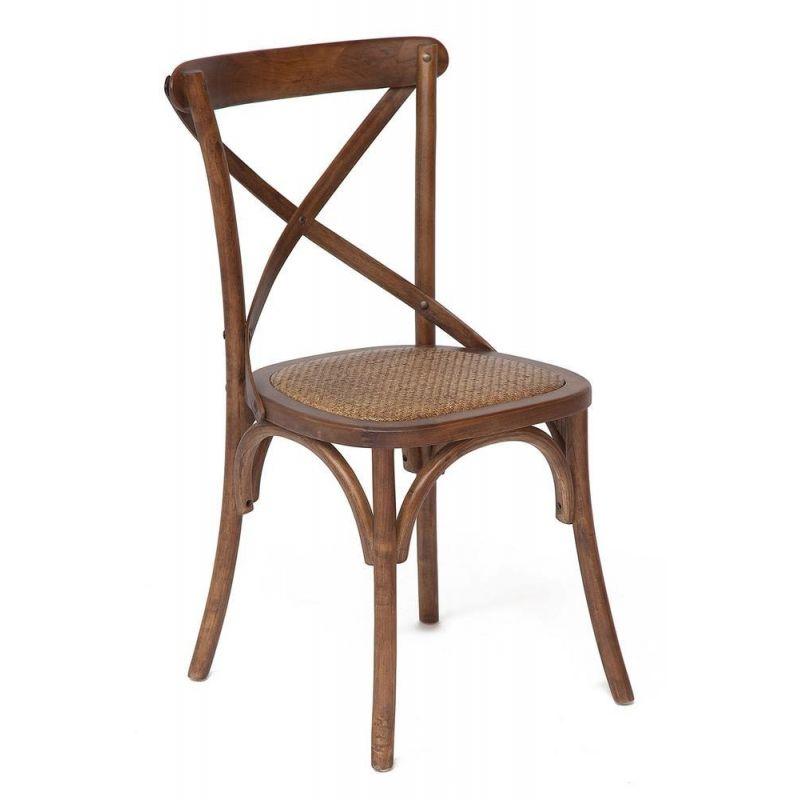Стул обеденный деревянный Secret De Maison «Cross Chair» Манго