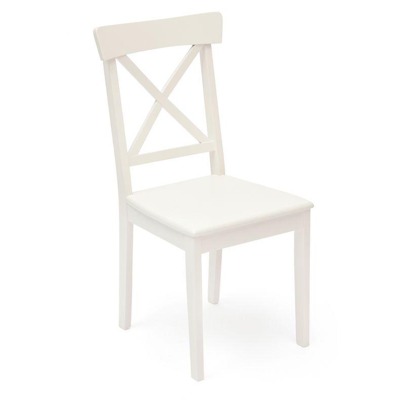 Стул деревянный с твёрдым сиденьем «Гольфи Джуниор» (Golfi Junior) Молочный