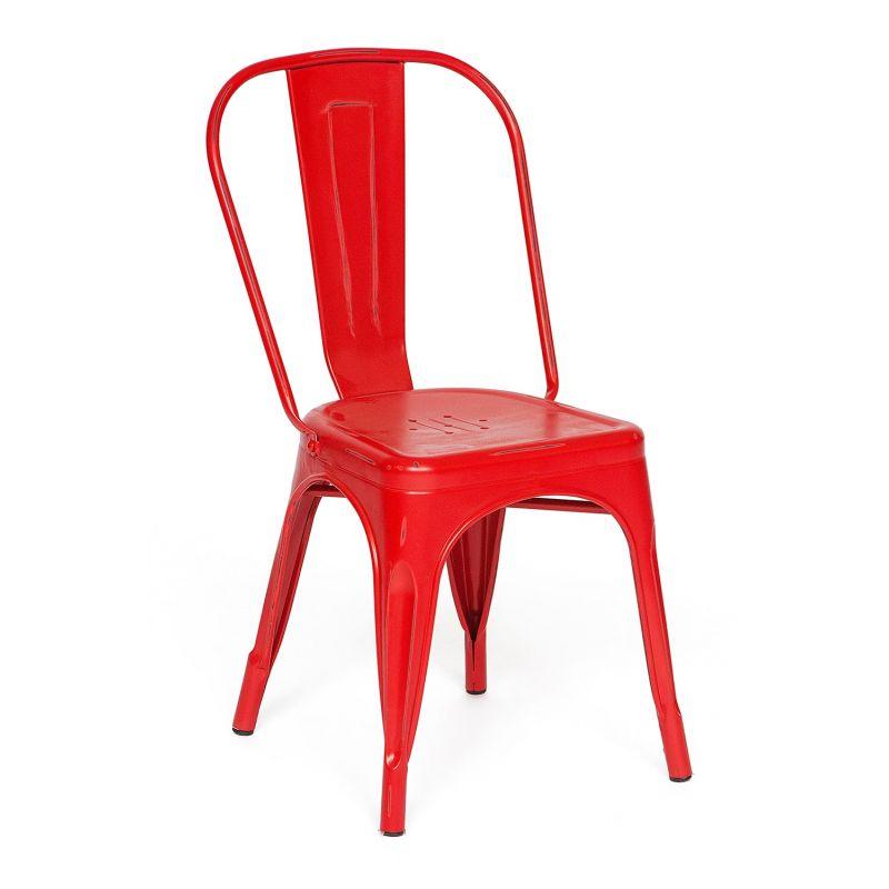 Стул металлический Secret De Maison «Loft Chair» Красный