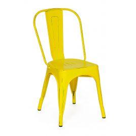 Стул металлический Secret De Maison «Loft Chair» Желтый