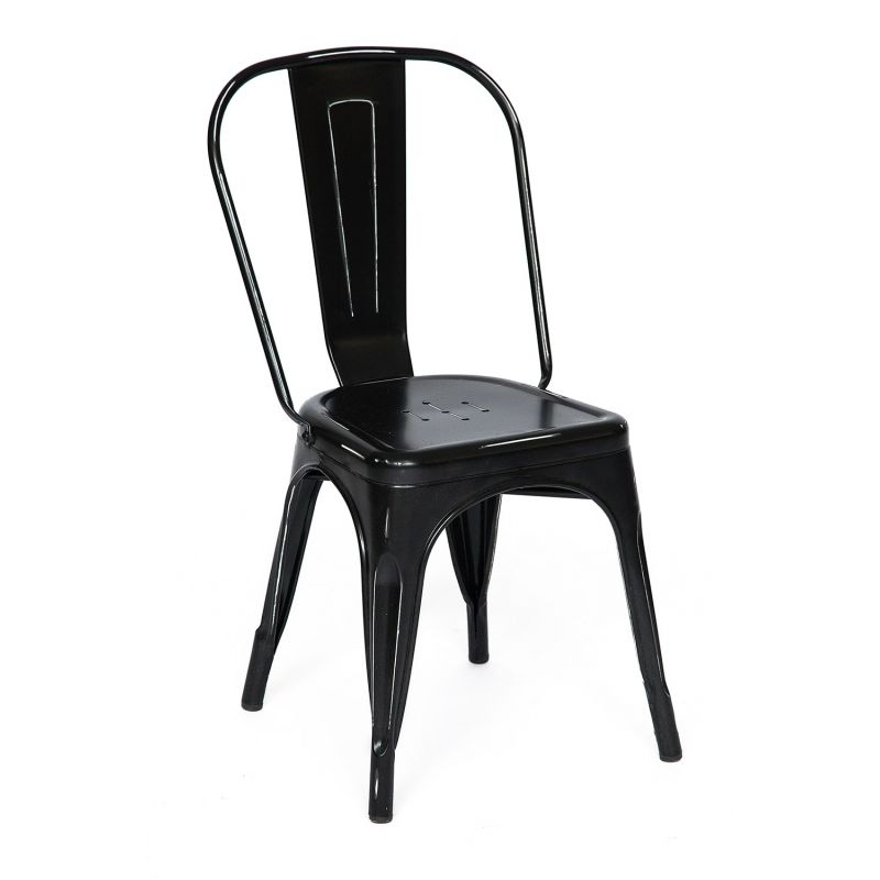 Стул металлический Secret De Maison «Loft Chair» Черный